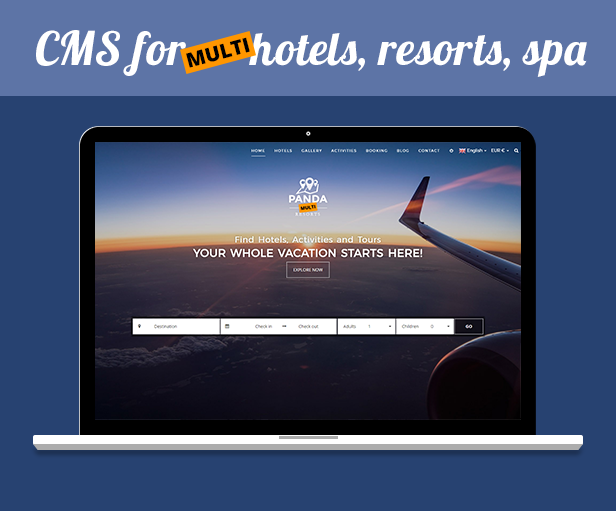 Panda Multi Resorts 7 - Booking CMS for Multi Hotels - 9