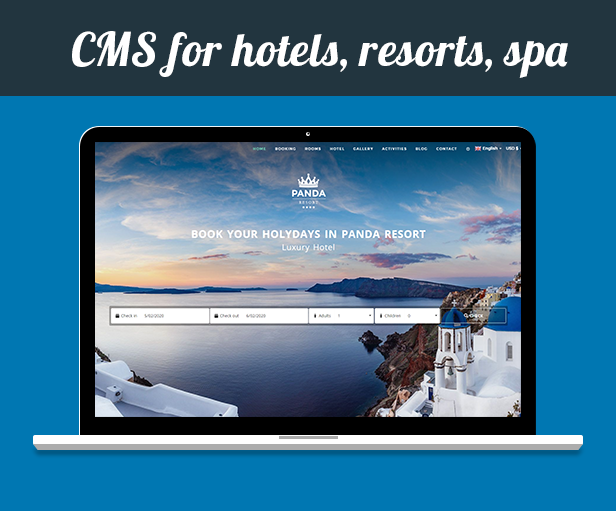 Panda Resort 7 - CMS for Single Hotel - Booking System - 9