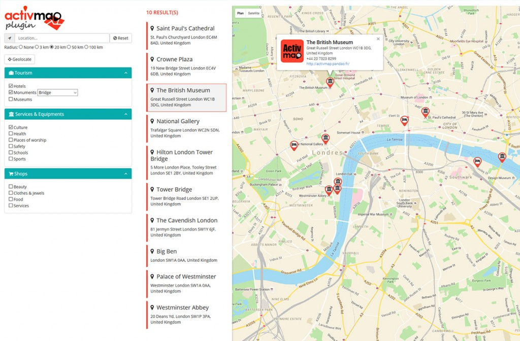 jQuery Activ'map Stores locator, Responsive Gmaps on site architecture map, information architecture map, javascript map, us world map, project management map, google earth map,